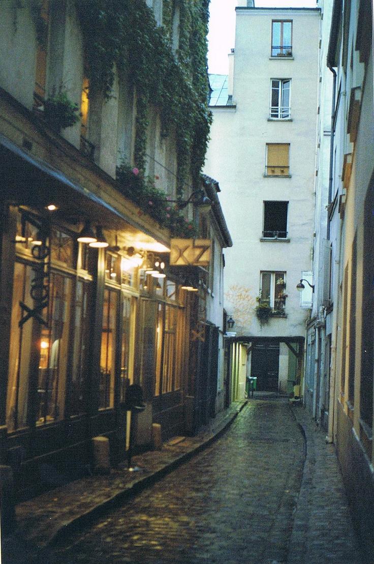 France Paris getting lost always a good idea